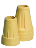 Crutch Tips -Jumbo-Tan Retail Box (pair)