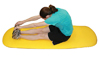 Cushioned Exercise Mat Yellow 26  x 72  x 0.6