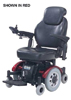 Denali Power Chair w/ Captain Seat & Mid Wheel Drive  Blue