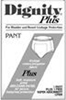 Dignity Plus Regular Pant Small