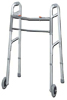 Easy-Release 2 Button Walker Youth W/3  Wheels