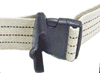 Gait Belt w/ Safety Release 2  x 48  Striped (#80515)