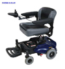 Geo 4-Wheeled Power Wheelchair Blue