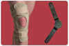 Knee Brace  Open Wrap Range of Motion  Medium