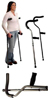 Millennial Crutches  Pair Underarm Fits 5' 7-6' 7 (Tall)