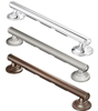 Moen Elegance Grab Bar  24  Chrome w/Grip Pads
