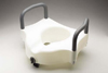 Raised Toilet Seat With Lock & Arms - Guardian (30270A)