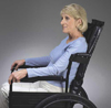 Reclining Wheelchair Backrest 18  x 33 H