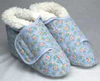 Sherpa Fleece Slippers Male Large 11-12