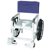 Shower Chair PVC Multi-Purpose w/Wheels