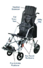 Trotter Mobility Positioning Chair  16  Wide
