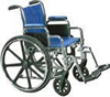 Wheelchair Std -Det. Desk Arms SDF - 18in
