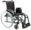 Wheelchair Ultralight Aluminum 18   Rem T Arms  S/A ELR's