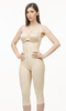 High Back Full Body Below the Knee Buttocks Enhancing Compression Garment w/Zipper