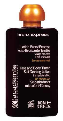 Academie BRONZ'Express Face & Body Tinted Self-Tanning Lotion