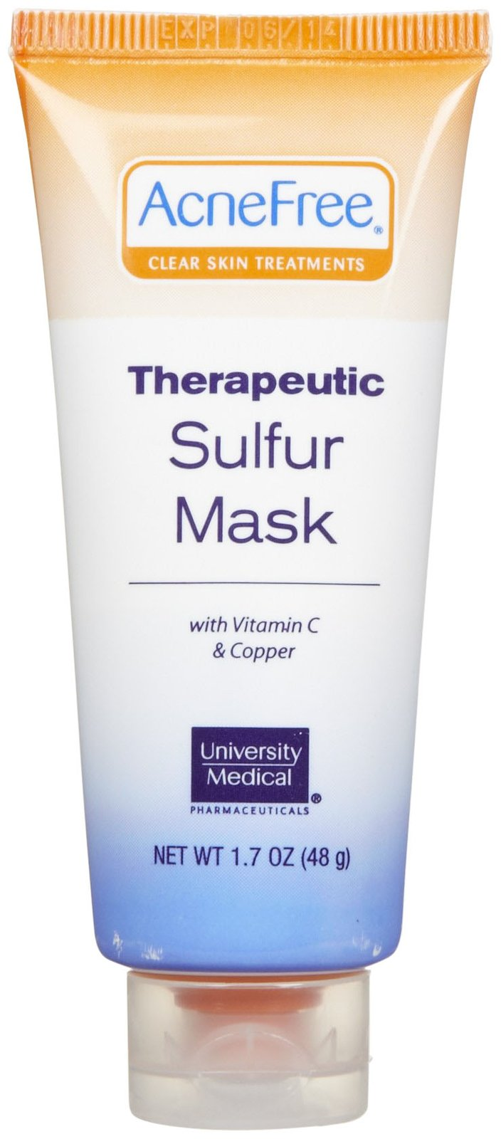 AcneFree Therapeutic Sulfur Mask 1.7 oz.