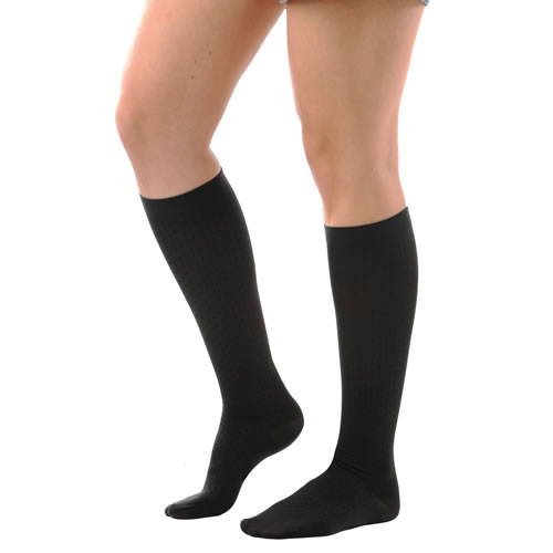 Alex Hosiery Knee High Closed Toe Compression Stockings - 20-30 mmHg (Unisex)