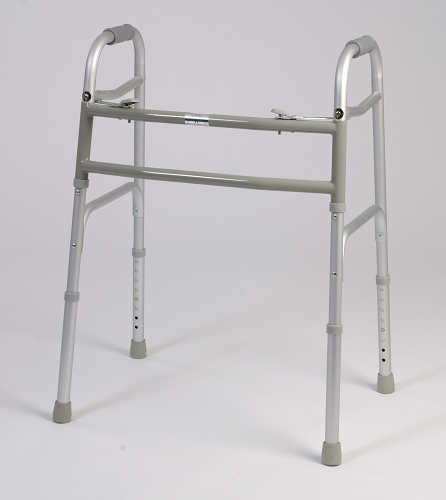 Alex Orthopedic Bariatric Dual Button Folding Walker