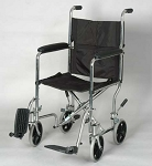 "Alex Orthopedic 17"" Transport Chair - Rollabout"