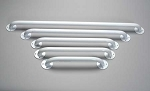 "Alex Orthopedic 18"" White Grab Bars"