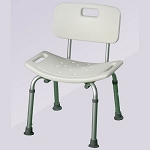 Alex Orthopedic Bath Bench With Back