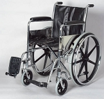 Alex Orthopedic Fixed Arm Wheelchair With Swingaway Footrests