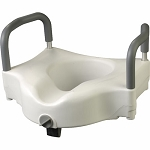 Alex Orthopedic Raised Toilet Seat With Lock & Arm