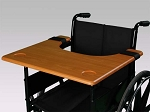 Alex Orthopedic Wheelchair Tray