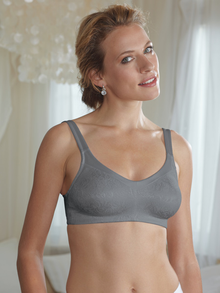 Amoena Rachel Soft Cup Lace w/ Comfort Gray
