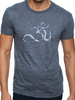 Anjali Yoga Ohm Burnout Tee