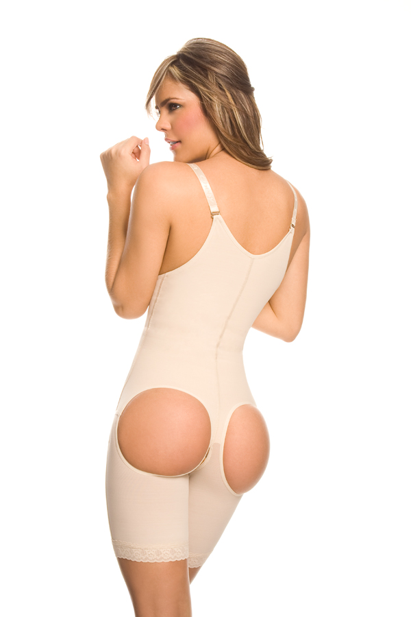 Anny Buttocks Enhancing Extra-Firm Bodysuit - Mid-Thigh -FINAL SALE