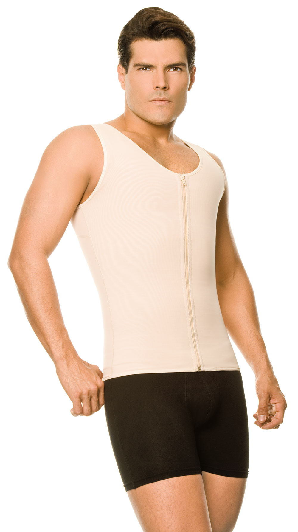 71be45d3f1 Men s Slimming Vest w Zipper