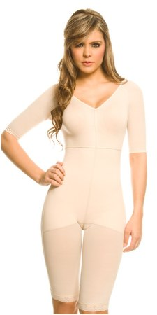 Ann Chery Sweet Seduction Powernet Full Body Shaper with Front Zipper 1020