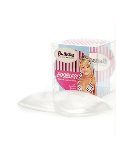 Bubbles Bodywear Boobles! Silicone Triangle Push-up Pads