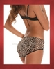 Bubbles Women's Wild Child Leopard Silicone Padded Panty/Pad Set