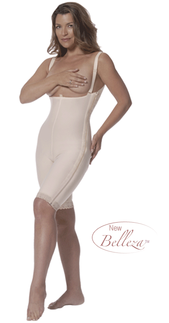 ClearPoint Above-Knee High Back Girdle