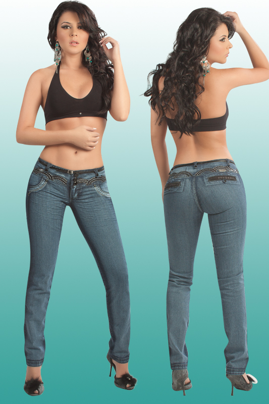 Co'Coon Indra Denim Slimming & Butt Lifter Bump Up Jeans - Low Cut