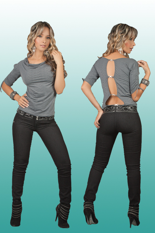 Co'Coon Indra Denim Slimming & Butt Lifter Bump Up Jeans - Black