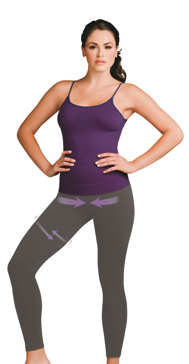 Co'Coon Seamless Sport Anti-Cellulite Biocrystals Shaping Trousers (w/Biocrystal nutrients)