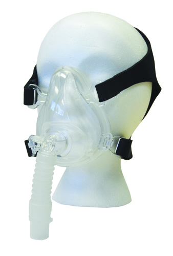 Deluxe Full Face CPAP Mask and Headgear - Medium Mask