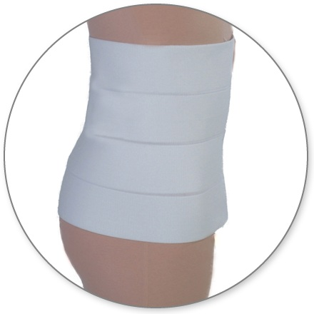 ContourMD Abdominal Compression Binder w/ Velcro Closures (13P)