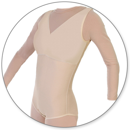 ContourMD Brief-Style Compression Body Shaper (Closed Crotch & No Zipper) - Stage 2 (32-NZBSP)