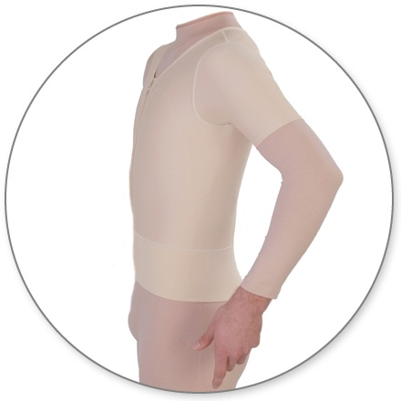 ContourMD Male Compression Vest w/ Sleeves (11S-MVSP)