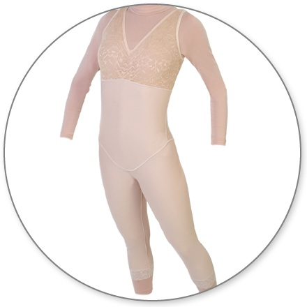 ContourMD Mid-Calf Compression Body Shaper (No Zipper) - Stage 2 (28-NZMCBSP)