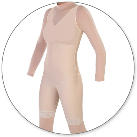 ContourMD Mid-Thigh Compression Body Shaper (No Zipper) - Stage 2 (27-NZMTBSP)
