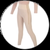 ContourMD Ankle-Length Compression Girdle w/ 4-inch Waist (Open Crotch & Side Zipper) - Stage 1 (5-ANK4P)
