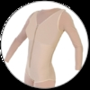 ContourMD Brief-Style Compression Body Shaper (Closed Crotch & Front, Padded Zipper) - Stage 1 (32-BSP)