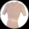 ContourMD Compression Vest w/ Short Sleeves & Hook-and-Eye Front Closure - Stage 1 (24-VWSSP)