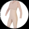 ContourMD Mid-Thigh Compression Body Shaper (Slit Crotch & Full Side Zipper) - Stage 1 (27FLZ-BSWZP)