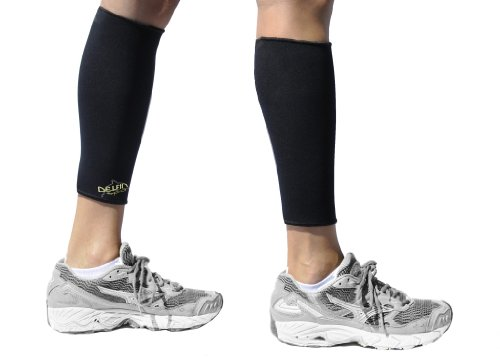 Delfin Spa Bio Athletic Ceramic Calf Sleeves (Support & Compression)